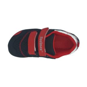 Feelmax LOKKA - černo červená barefoot bota