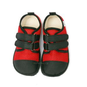 Beda Barefoot červené boty