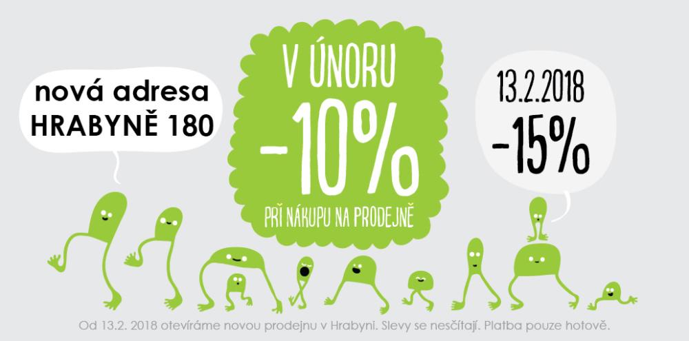 Barefoot prodejna mezi Opavou a Ostravou